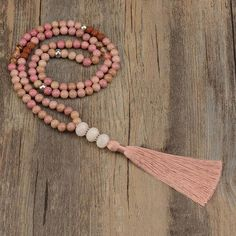 108 Mala Beads and Mala Bracelets from Mala Prayer. Our Mala Beads are sustainably handcrafted. Genuine 108 Mala Beads Collection and Mala Prayer Beads. Old Jewelry, Metal Jewelry, Jewelry Making, Jewelry Necklaces, Making Bracelets, Tassel Jewelry, Craft Jewelry, Beach Jewelry, Jewelry Ideas