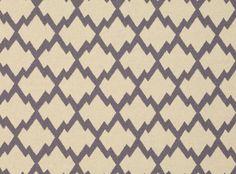 Mulu Trellis Agapanthus - Sarawak - Contemporary Prints : Upholstery Fabrics, Prints, Drapes & Wallcoverings
