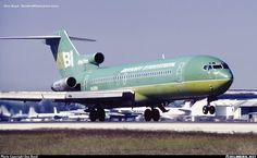 Taking off on runway in need of a paint job. - Photo taken at Miami - International (Wilcox Field / Street / Pan American Field) (MIA / KMIA) in Florida, USA in November, Boeing 727, Boeing Aircraft, Airplane Photography, Aviation Image, Commercial Aircraft, Photo Search, Transportation, Airplanes, Birds