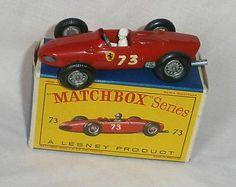1960s.Lesney Matchbox.73.Ferrari Racing Car.Mint In Box.all Original - http://www.matchbox-lesney.com/42309