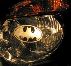 You are bidding on one pair of etched vinyl decals . You can stick them on either yourhead light or tail lights or any flat surface. Batman Car, I Am Batman, Batman Stuff, Batwoman, Batgirl, Nananana Batman, Brakes Car, Best Superhero, Poison Ivy