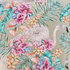 Matthew Williamson - Flamingo Club Wallpaper - W6800-07