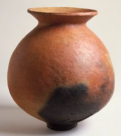 Storage jar, Yayoi period (ca. 4th century B.C.–3rd century A.D.)  Japan  Earthenware