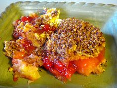 Cherry Pineapple Dump Cake February is National Cherry Month