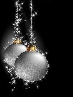В серебре - анимация на телефон silverchristmas Animated Christmas Tree, Merry Christmas Gif, Christmas Scenes, Silver Christmas, Christmas Balls, Christmas Pictures, Christmas Art, Christmas Greetings, Beautiful Christmas