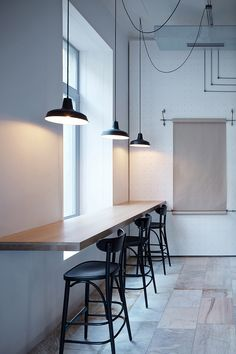 <p>Current and connection are the main themes of the interior design of Proti Proudu Bistro in Prague's Karlín district. Inspiration by František K?ižík, the Karlín-born electrical engineering i