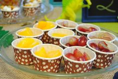 Make serving kids easy with mini snack cups
