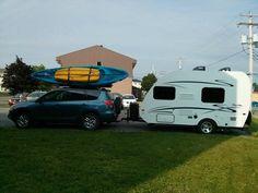 Notre set-up avec les kayaks ! Kayaks, Motorhome, Recreational Vehicles, Profile, Kayaking, Rv, Mobile Home, Caravan, Mobile Homes