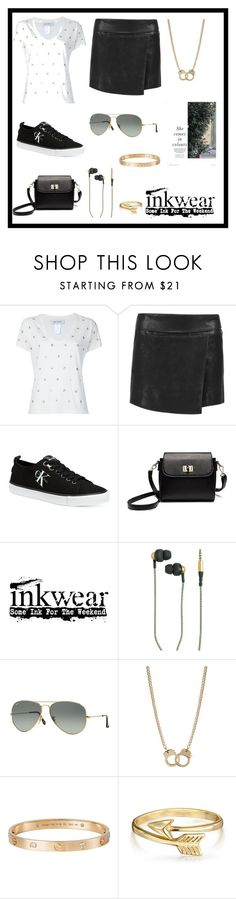 """GOTTA BE YOU"" by bb-rodrigues on Polyvore featuring moda, Beau Souci, Isabel Marant, Calvin Klein, Kreafunk, Ray-Ban, Sugar NY, Cartier e Bling Jewelry"