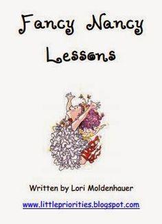 Classroom Freebies Too: Fancy Nancy Book Tea Kindergarten Writing, Teaching Writing, Teaching Tools, Literacy, Vocabulary Activities, Book Activities, Activity Books, School Games For Kids, Classroom Freebies