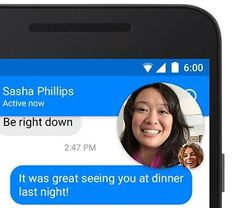 Facebook adds Dropbox support and video Chat Heads to Messenger