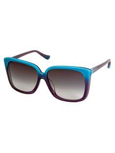 Dita Turquoise Holiday Sunglasses  #R29lovesDITA