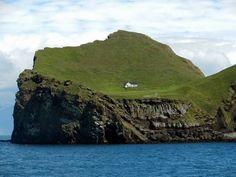 Casa da ilha na Islândia=Fotos inéditas de casas diferentes e maravilhosas
