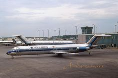 "Eastern Airlines Douglas DC-9-51 N992EA at ATL in April 1978 8""x12"" Color Print 