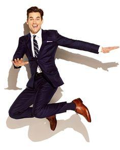 The Gilt MAN Q: Matt Bomer. Matt bomer always looks so nice. Sharp Dressed Man, Well Dressed Men, Look Formal, Style Simple, Matt Bomer, Men's Fashion, Gentleman Style, Modern Gentleman, White Collar
