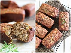 Apple and Sharp Cheddar Buckwheat Mini Breads
