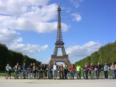 Biking Paris