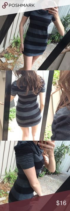Sweater Dress Cute sweater dress! Perfect condition. Very flattering. Take Out Dresses Mini