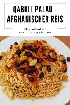 Heute gibt es ein ganz besonderes Rezept – das wohl das bekannteste Gericht der afghanischen Küche. Man könnte es sogar als das Nationalgericht bezeichnen. Gleichwohl, bei wem man eingeladen wird: Qabuli Palau ist ein fester Bestandteil. Auch hier haben wir wieder eine leichte Mischung aus herzhafter und süßer Geschmacksnote. Mehr auf BASMA .