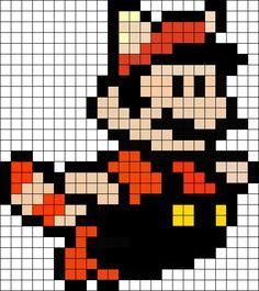 Super Mario Perler Bead Pattern / Bead Sprite