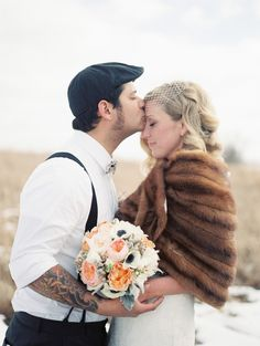 rustic missouri love // photo by Lisa Dolan Photography