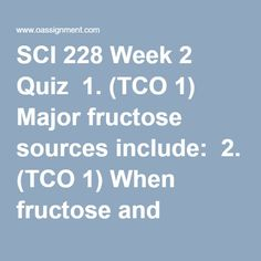 SCI 228 Nutri Health and Wellness with Labs - OAssignment Glycemic Index, Gestational Diabetes, Photosynthesis, Weight Gain, Health And Wellness, Student, Science, How To Plan, Chip Cookies