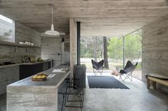 H3 Summer House in Argentina by Luciano Kruk