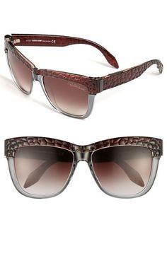 Roberto Cavalli 58mm Oversized Sunglasses | Nordstrom
