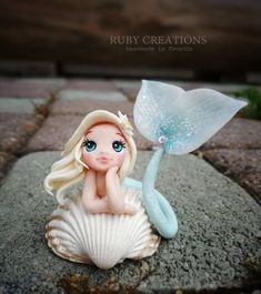 Most up-to-date Free of Charge Polymer clay crafts mermaid Suggestions Mermaid shell, polymer clay figurine Polymer Clay Mermaid, Polymer Clay Kunst, Polymer Clay Figures, Cute Polymer Clay, Cute Clay, Polymer Clay Dolls, Polymer Clay Flowers, Polymer Clay Projects, Polymer Clay Charms