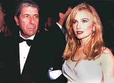 Leonard Cohen & Rebecca De Mornay. For 5 years or so  relationship in the early 1990's.