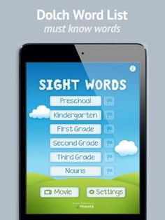 Sight Words - the Future of Flashcards by Sprite Labs, is a universal app that has the ability to hear your child read a word and give him or her immediate feedback. Educators have been hoping for this technology for a long time, and it is finally available in the App Store. http://www.funeducationalapps.com/2013/06/sight-words-a-revolutionary-app-that-uses-voice-recognition-review.html #education #edtech #ipad #apps #Kids #kidsapps #specialed #homeschool #mlearning #edapp