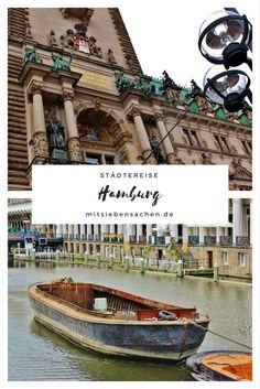 Reisen in Deutschland Hamburg Rathaus Alster Elbe Fähre Speicherstadt Miniatur Wunderland Franzbrötchen Bullerei Gängeviertel St.Petri Schiffsfahrt Alsterfahrt Kunsthalle