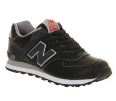 e03c6c728d0d9 New Balance New Balance M574 Navy Leather - His trainers