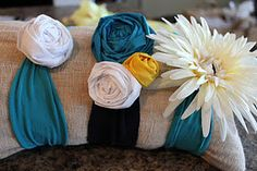 Easy to make headbands! Camryn needs a couple of these.
