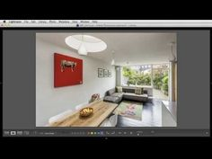 Free video tutorials from Simon Maxwell Choosing the plane of sharp focus in an interiors image