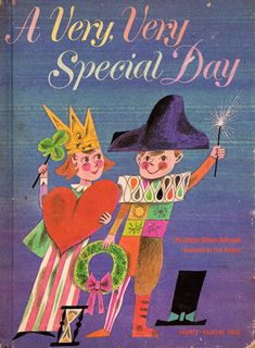 my vintage book collection (in blog form).: A Very, Very Special Day - illustrated by Tom Vrom...