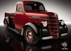 1937 IHC D2 pickup 390-cu.in. MaxxForce 7 diesel V-8 good for 350hp and 650-lbs.ft. of torque.