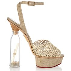 Haute buy: Charlotte Olympia SOS Message in a Bottle shoes - What's Haute™ Charlotte Olympia, Creative Shoes, Online Shopping Shoes, Message In A Bottle, Only Shoes, Crazy Shoes, Shoe Collection, Wedding Shoes, Designer Shoes