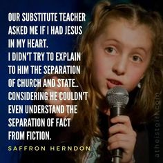 Did you know that religion is EVIL spelled backwards? If you don't see that, you're not looking hard enough. Atheist Quotes, Atheist Humor, Atheist Beliefs, Christianity, Qoutes, Secular Humanism, Losing My Religion, Religious People, Religious Humor