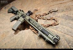 Survival Weapons, Weapons Guns, Guns And Ammo, Anime Weapons, Rifles, Ar Rifle, Ar Platform, Ar 15 Builds, Ar Build