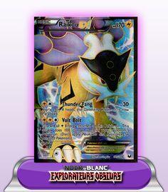 RAIKOU EX FULL ART 170PV - 105/108