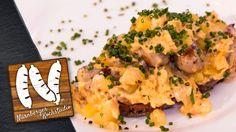 Ein tolles Bauernfrühstück mit Nürnberger Rostbratwürsten von WOLF. #nürnbergerkochstudio #bratwurst #nürnberg #nürnberger #rostbratwurst #grillen #wurstvomgrill #rezept #rezepte #kochen #diy #bauernfrühstück