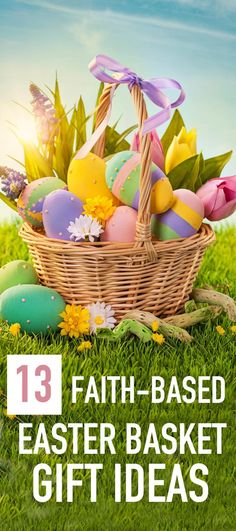 Share an easter basket filled with jesus this year easter baskets 32 cute christian easter gifts for toddlers chocolate easter eggseaster basketschristian negle Images