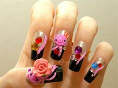 Japanese Nail Art Gallery | ... And Beautiful Japanese 3D Nail Art Designs, Supplies And Gallery-4