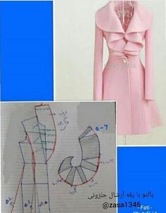 Pattern Draping, Bodice Pattern, Collar Pattern, Diy Clothes And Shoes, Sewing Clothes, Sewing Patterns Free, Clothing Patterns, Textile Manipulation, Sewing Collars