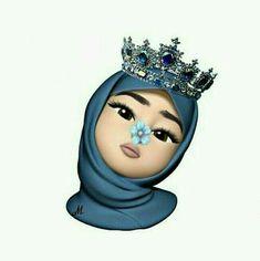 moda emo - Reality Worlds Tactical Gear Dark Art Relationship Goals Girl Hijab, Hijabi Girl, Hijab Drawing, Emoji Wallpaper Iphone, Girl Emoji, Islamic Cartoon, Emoji Pictures, Anime Muslim, Hijab Cartoon