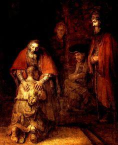 Rembrandt, Rembrandt Harmenszoon van Rijn, Holanda, 1606-1669, A Volta do Filho Pródigo 3