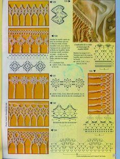 Ivelise Feito à Mão: Barrados Com Franjas