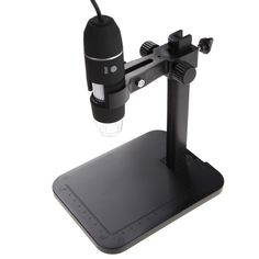 USB Digital Microscope 1000X 8 LED 2MP Endoscope Magnifier Camera+Lift Stand Microscope Measurement & Analysis Instruments Tool