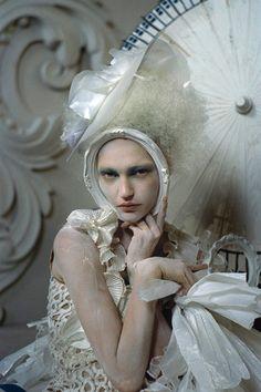 Look back at photographer Tim Walker's many fantastical Vogue shoots